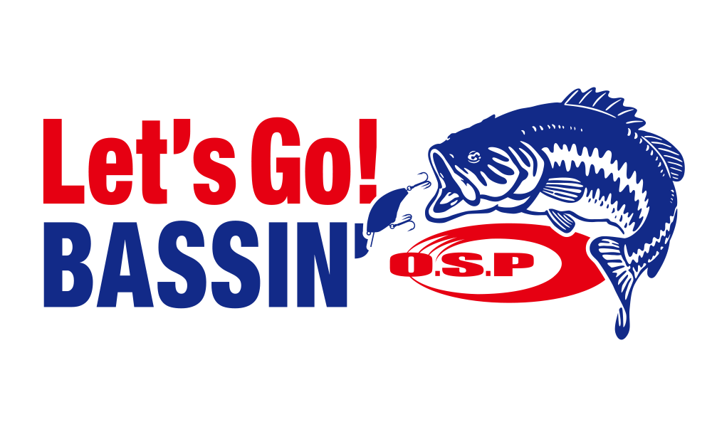 O.S.P Let's Go! BASSIN' Sticer
